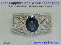 star rings silver images Star sapphire rings diffused star sapphire make gold and silver jpg