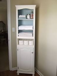 Bathroom Storage Cabinet Amazing White Bathroom Storage Cabinets Choozone With Regard To
