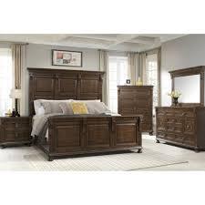 bedroom furniture king hanover bedroom bed dresser mirror king hanover3pckgbr