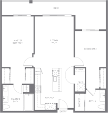 Split Bedroom Floor Plan Plan 4 At X67 New Homes And Lofts For Sale In La