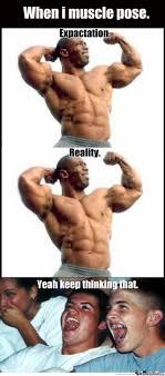 Muscle Memes - muscle pose by somekindatom meme center