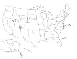 map usa place hilariously label a map of the united states