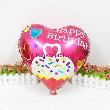 birthday helium balloons cake mylar globos birthday aluminum foil balloons helium