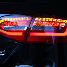 audi a4 tail lights taillight packages a4 s4 post facelift led avant