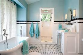 brown and white bathroom ideas 25 bathrooms that beat the winter blues with a splash of color