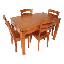 natural wood kitchen table and chairs sober solid wood dining set woodys furniture