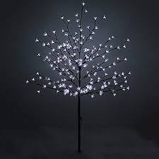 new 1 5m led cherry tree artificial tree indoor