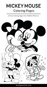 coloring pages printable minnie mouse coloring pages free