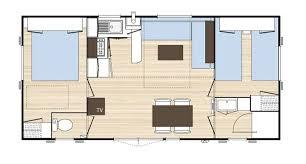 mobil home o hara 3 chambres o hara mobile home cing le grand calme