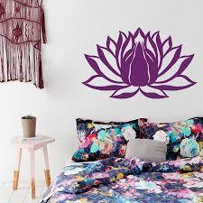 Lotus Flower Wall Decal Om by Wall Decal Lotus Flower Namaste Symbol Vinyl Sticker Murals Yoga