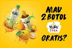 Teh Yuzu gratis produk yuzu tea