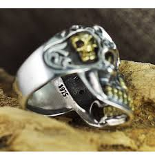 antique skull rings images Gagafeel vintage cool open jewelry skull rings 100 real 925 jpg