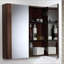 Floor Standing Mirrored Bathroom Cabinet Double Mirrored Bathroom Cabinet Bahtroom Corner 48 Inches