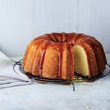 top off this classic tangy lemon cake with a jammy apricot and