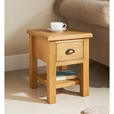 Oak Side Table B M Wiltshire Oak L Table 319205 B M