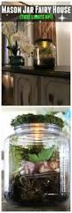 diy mason jar fairy house fairy houses fairy and rain