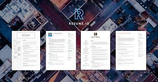Free Online Resumes For Employers by Create Your Job Winning Resume Resume Io