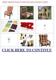 Patio Furniture Replacement Parts by Home Trends Patio Furniture Replacement Parts