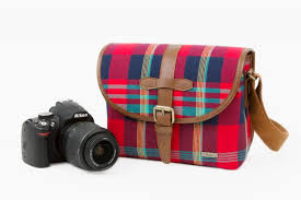 Scotch Plaid A Cute Camera Satchel With All Of The Scotch Plaid None Of The