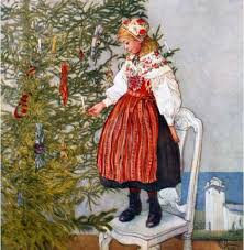 it u0027s about time christmas by carl larsson swedish painter 1853