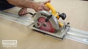circular saw table saw adapter benefits of a track saw woodworkers guild of america youtube