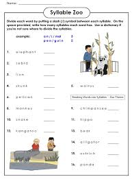 check out our syllable zoo worksheet this worksheet will help