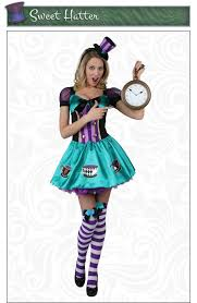 Purple Halloween Costume Ideas Mad Hatter Costumes Alice In Wonderland Madhatter Halloween Costume