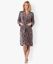 robe de chambre leopard robe de chambre imprimée léopard gémo