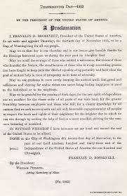 wallbuilders thanksgiving proclamation franklin d roosevelt