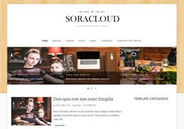 sora cloud responsive blogger template u2022 blogspot templates 2018