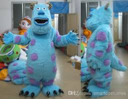 Monsters Inc Costumes Light And Comfortable To Wear Monsters Inc Sulley Mascot