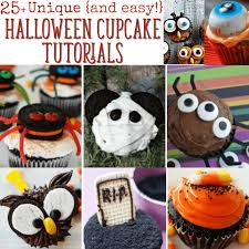 Halloween Decorations For Cakes by Unique Halloween Cupcake Ideas 25 Recipes With Tutortials
