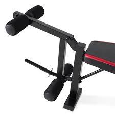 Leg Developer Bench Cap Strength Olympic Bench With Preacher Pad And Leg Developer