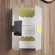 sle rsvp cards vintage olive green pocket wedding invitations with rsvp cards