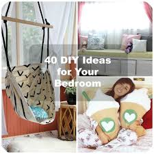 Room Decor Diys 40 Diy Bedroom Decorating Ideas