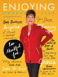 joyce meyer ministries enjoying everyday life sept oct nov 2015