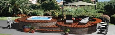 Hot Tub Deck Design Planning Tool Hot Spring Spas - Backyard deck designs plans