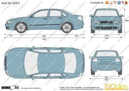 2010 audi a4 features the blueprints com vector drawing audi a4