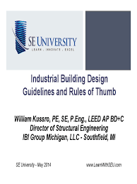 2014 05 14 industrial building design guidelines and rules of
