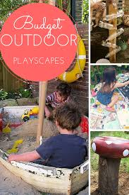 create an outdoor playscape our storied home