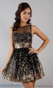 black and gold short cocktail dresses u2013 dress blog edin