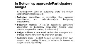 budgeting u0026 budgetary control ppt download