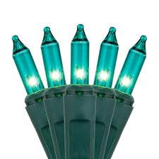 lights 100 teal tree mini lights 6 spacing
