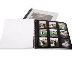 8 x 10 photo album books photo proof books albums diversified lab