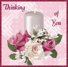 thinking of you flowers thinking of you glitters for myspace whatsapp