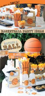 basketball party ideas nothin but net basketball party supplies big dot of happiness