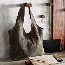 Roost Home Decor Co Gray Suave Suede Tote From Elizabeth U0027s Embellishments