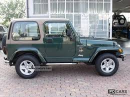 2000 jeep wrangler specs 2000 jeep wrangler 4 0l automatic car photo and specs