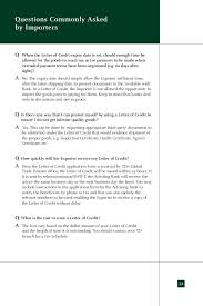 Letter Of Credit Validity letter of credit loc