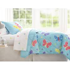 green bedding for girls blue butterfly bedding for girls twin or full bed in a bag
